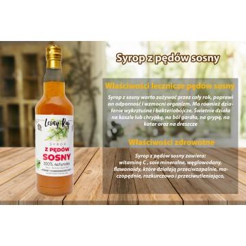 Syrop z pędów sosny 0,5 L