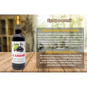 Syrop z aronii 0,5 L